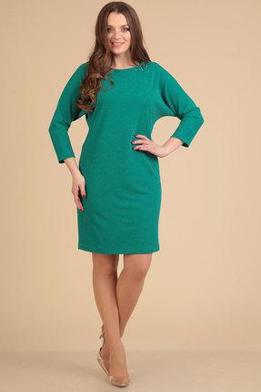 Платье Viola Style 0762 бирюза