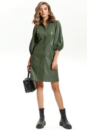 Платье TEZA 1434 зеленый