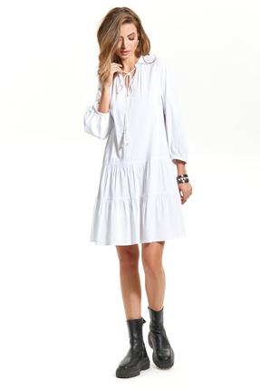 Платье TEZA 1582 молочный