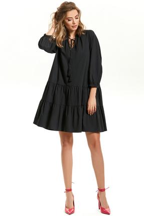 Платье TEZA 1582 черный