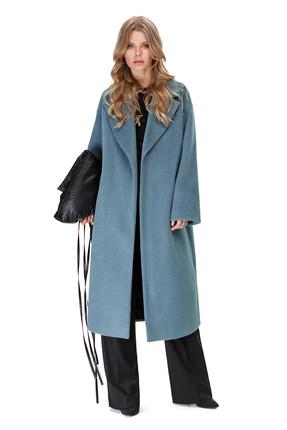 Пальто PIRS 1411 голубые тона