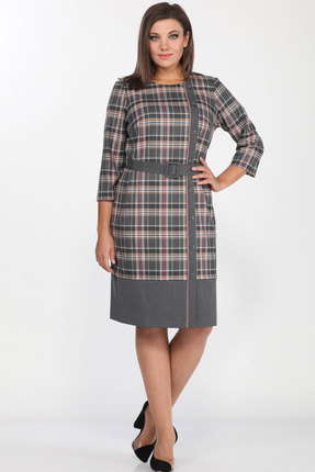 Платье Lady Style Classic 2156 серый