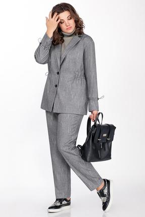 Комплект брючный Anna Majewska 1416 серый