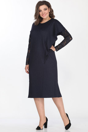 Платье Lady Style Classic 2154 синий