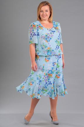 Платье FoxyFox 1705 голубой