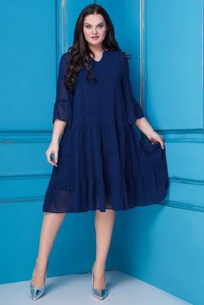 Платье Anastasia 251 темно-синий