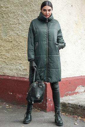 Пальто Doggi 6280 хаки