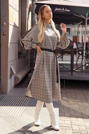Платье Vesnaletto 2390 черно-белый