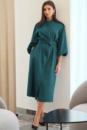 Платье Ladis Line 1266 изумруд