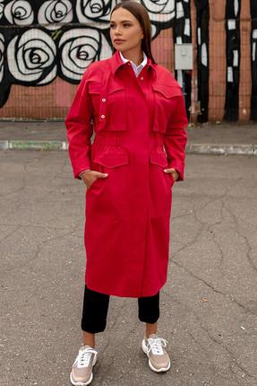 Плащ Olga Style 253 красный