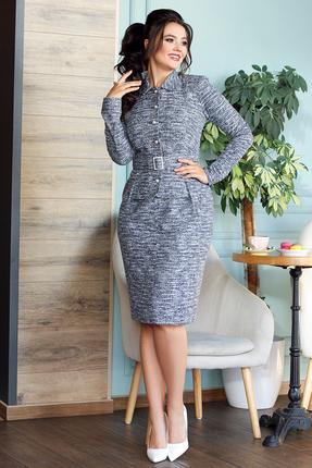Платье Мода-Юрс 2496 серый