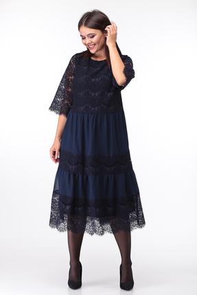 Платье Anastasia Mak 746 синий