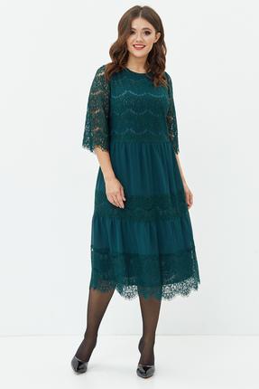 Платье Anastasia Mak 746 зеленый