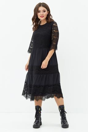 Платье Anastasia Mak 746 черный