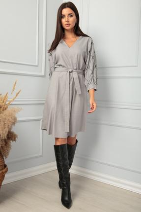 Платье SandyNa 13850 серый