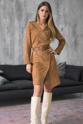 Платье Mirolia 847 терракотовый