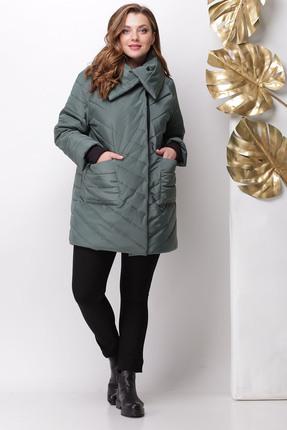 Куртка Michel Chic 351 зеленые тона