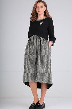Платье Ришелье 811 чёрный