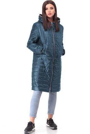 Пальто ТАиЕР 874 ультрамарин