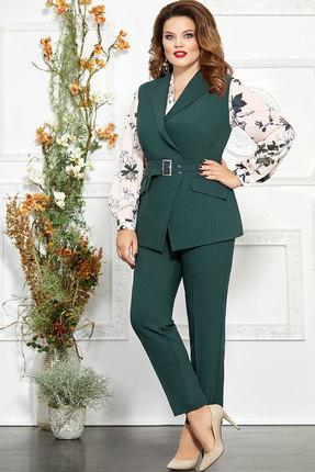 Комплект брючный Mira Fashion 4824-5 зелёный
