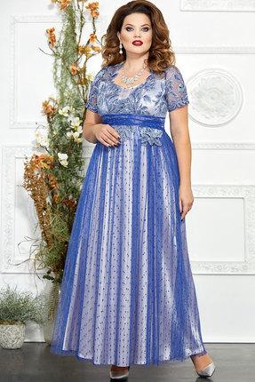 Платье Mira Fashion 4827-3 василёк