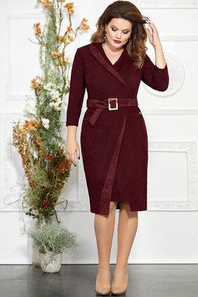 Платье Mira Fashion 4857 бордовый