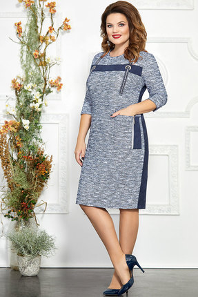 Платье Mira Fashion 4862 синий