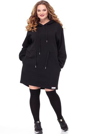 Платье Anelli 765 черный