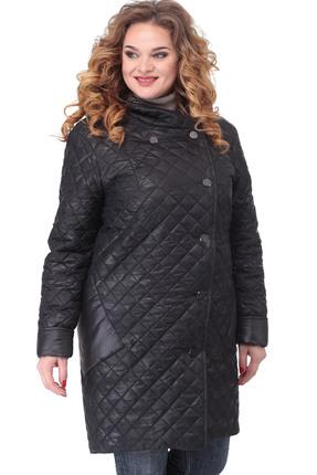 Пальто Lady Three Stars 2031 черный