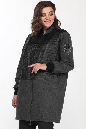 Куртка Lady Style Classic 2183 серый с черным