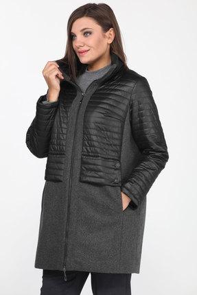 Куртка Lady Style Classic 2184/1 черный с серым