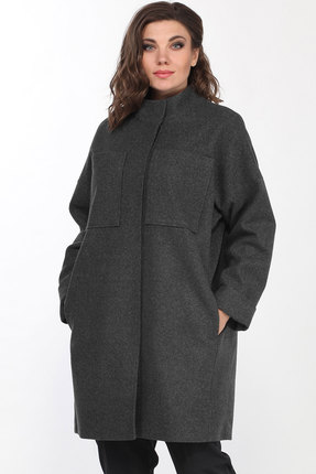 Пальто Lady Style Classic 2195 серый