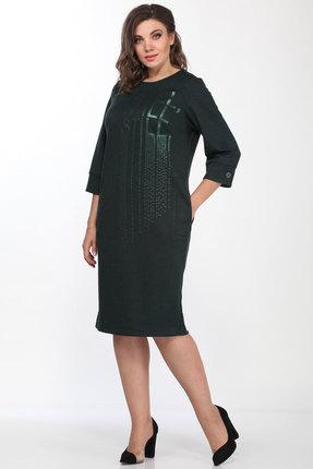Платье Lady Style Classic 2196 изумрудный