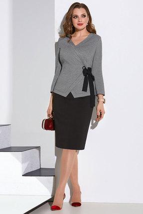 Комплект юбочный Lissana 4191 серый с черным