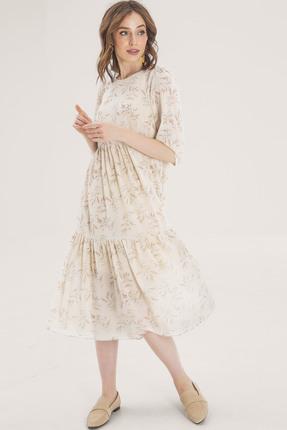 Платье Elletto 1794 бежевый