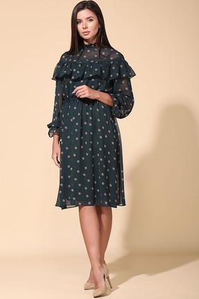 Платье Faufilure 1134 изумруд