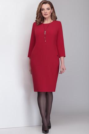 Платье Милора-Стиль 817 красный