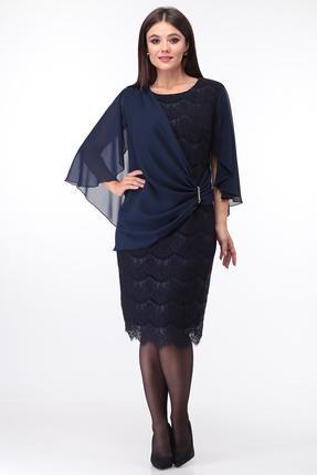 Платье Anastasia Mak 753 синий