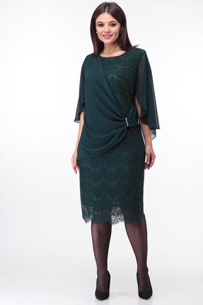 Платье Anastasia Mak 753 зеленый