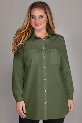 Рубашка Emilia 483/5 хаки