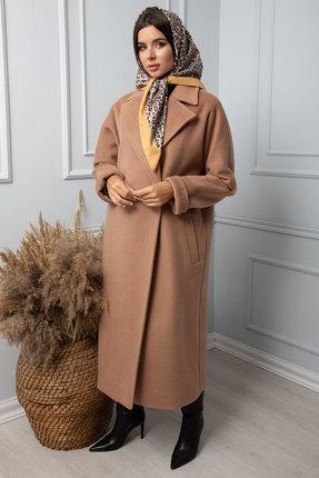 Пальто SandyNa 13814 песочный