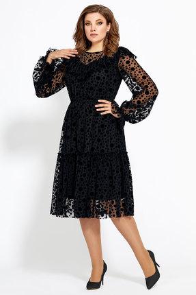 Платье Мублиз 486 черный