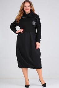 Платье Axxa 55162 черный