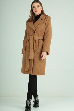 Пальто Axxa 84891А  бежевый
