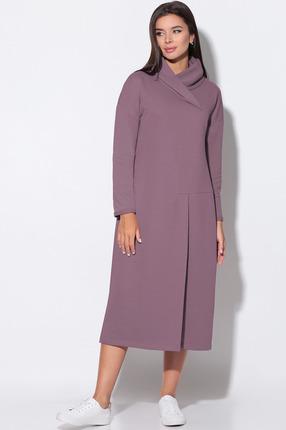 Платье LeNata 11156 слива