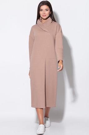 Платье LeNata 11156 какао