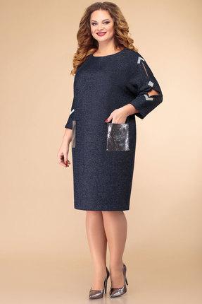 Платье Svetlana Style 1434 синий