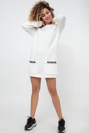 Платье HIT 4011 молочный