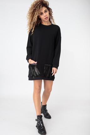 Платье HIT 4011 черный