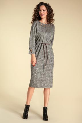 Платье Магия Моды 1803 серый